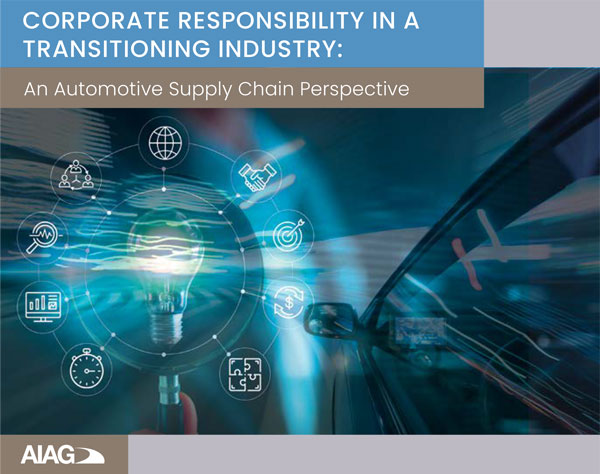 Corporate Responsibility in a Transitioning Industry Report