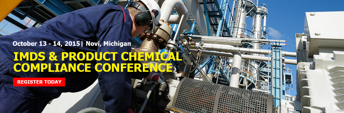 IMDS & Product Chemical Compliance Conference