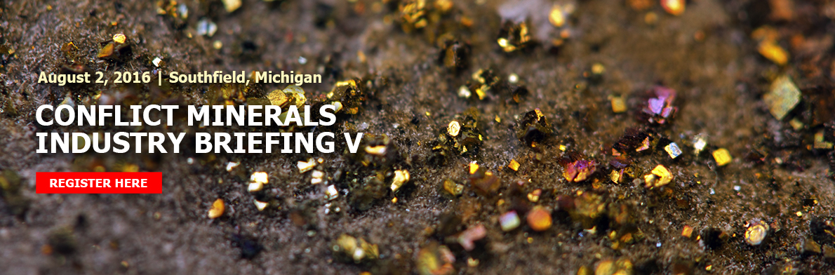 Conflict Minerals Industry Briefing V