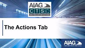 13 - Actions Tab